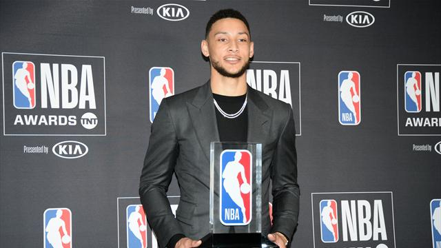 Philadelphia 76ers' Ben Simmons named Rookie of the Year