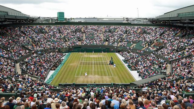 Wimbledonin tennisturnaus Eurosportin kanavilla ja TV5:llä