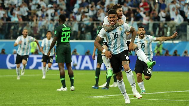 Rojo eroe d'Argentina! Nigeria battuta 2-1: Albiceleste agli ottavi, ma che fatica