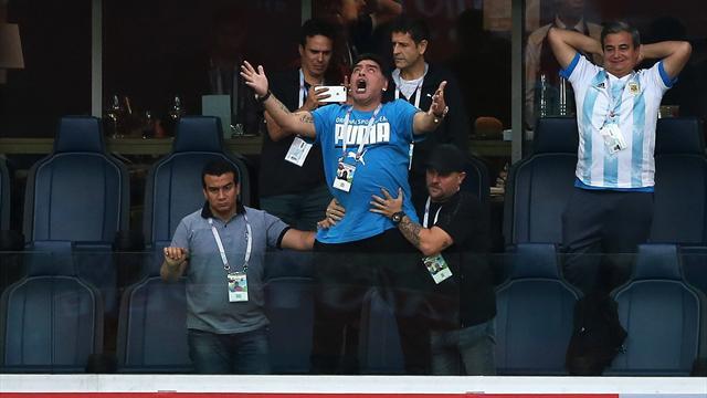 Russia 2018, Maradona: