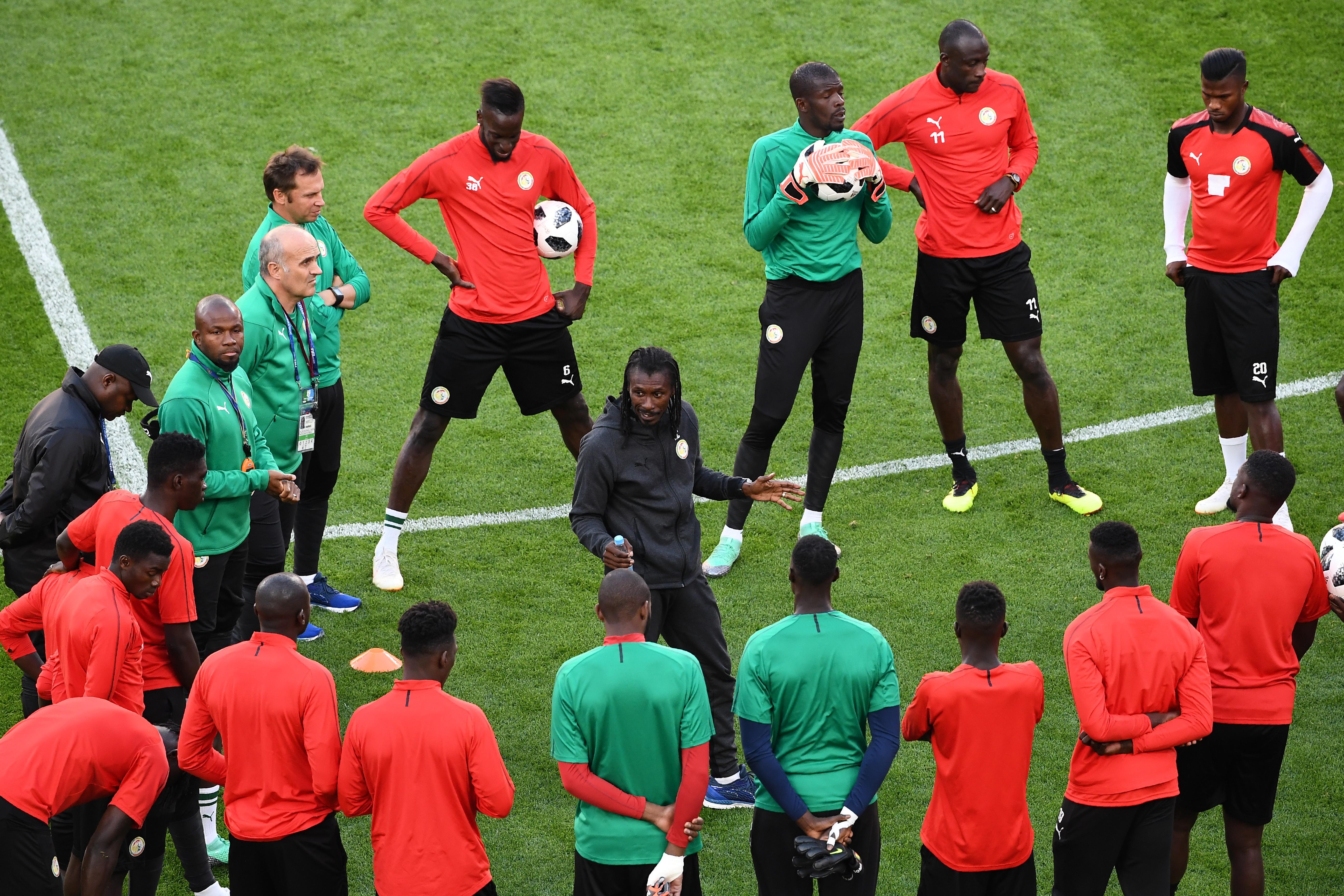 Aliou Cisse will gegen Kolumbien auf Sieg spielen