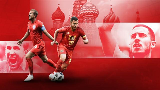 Angleterre-Belgique, bataille pour la… deuxième place