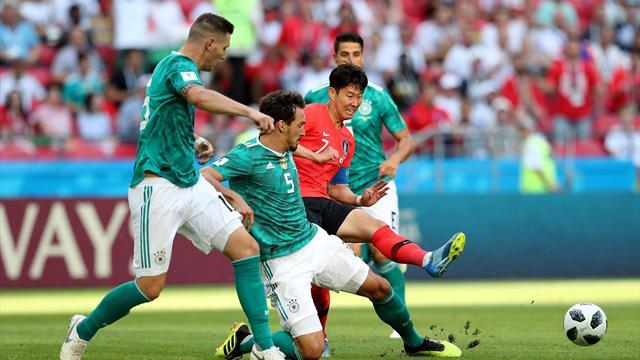 Le pagelle di Corea del Sud-Germania 2-0: nei tedeschi si salva solo Hummels, Son e Jo trascinatori
