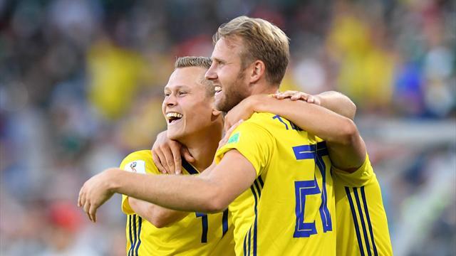 La Svezia fa la voce grossa contro il Messico: 3-0 e primo posto. El Tricolor passa come secondo