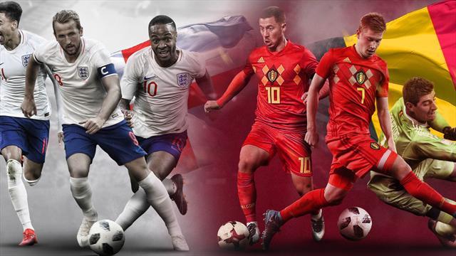 La previa en 60 segundos del Bélgica-Inglaterra (Tercer y cuarto puesto)