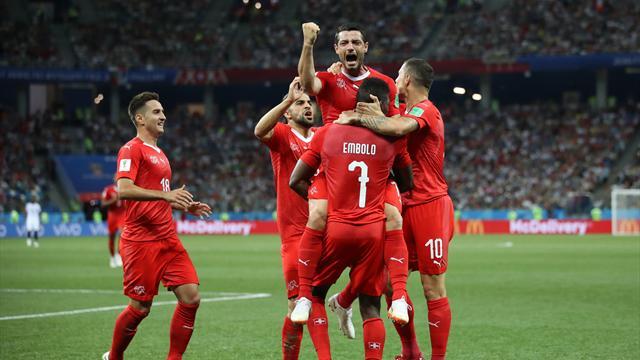 Alla Svizzera basta un pari per gli ottavi: con la Costa Rica finisce 2-2