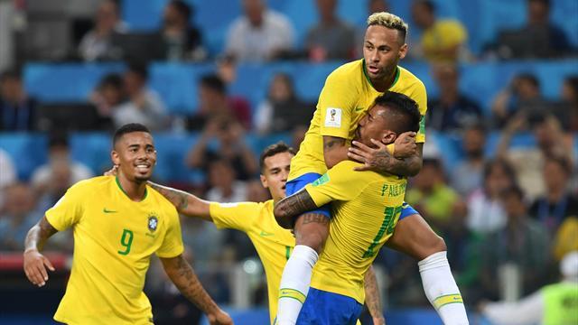 Nicht lange gezittert: Brasilien souverän im Achtelfinale