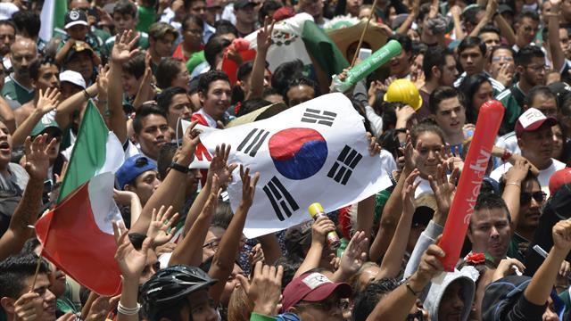 """Les Mexicains soulagés : """"Merci la Corée... même si je ne sais pas exactement où c'est"""""""