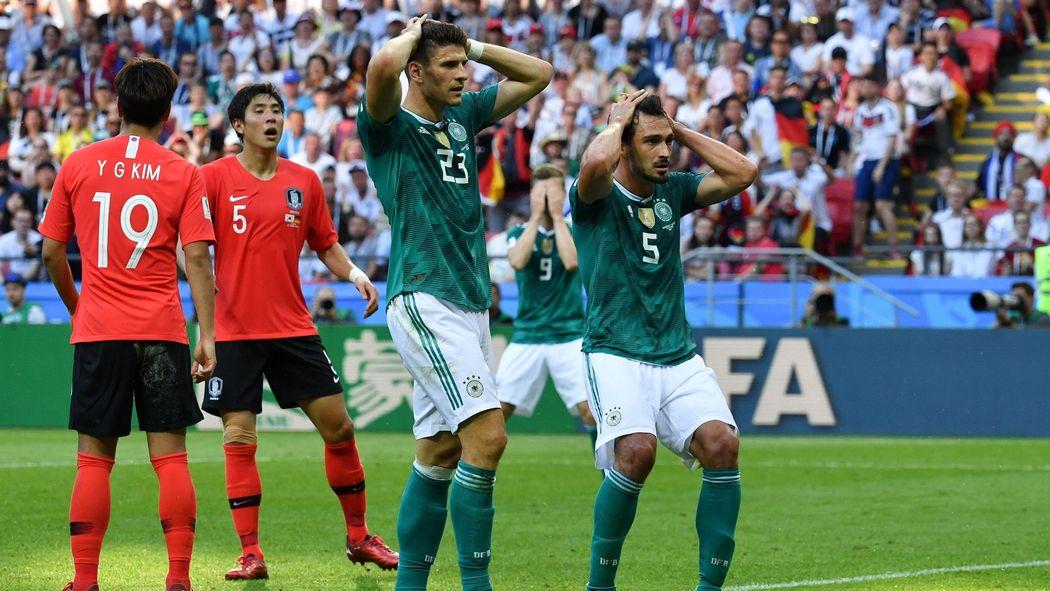 Coupe du monde 2018   après l élimination de l Allemagne, la une de
