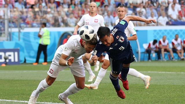 Il Giappone perde 1-0 contro la Polonia ma ringrazia la Colombia. Nipponici agli ottavi di finale