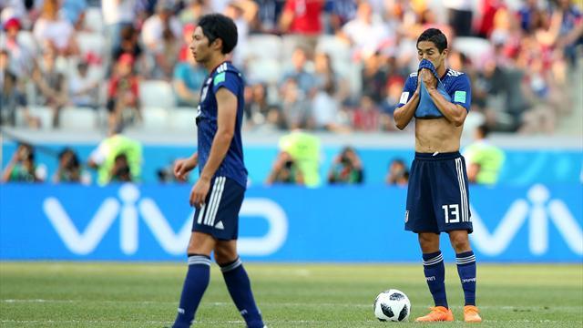 """Farce in der Schlussphase: Japan """"verliert"""" sich ins Achtelfinale"""