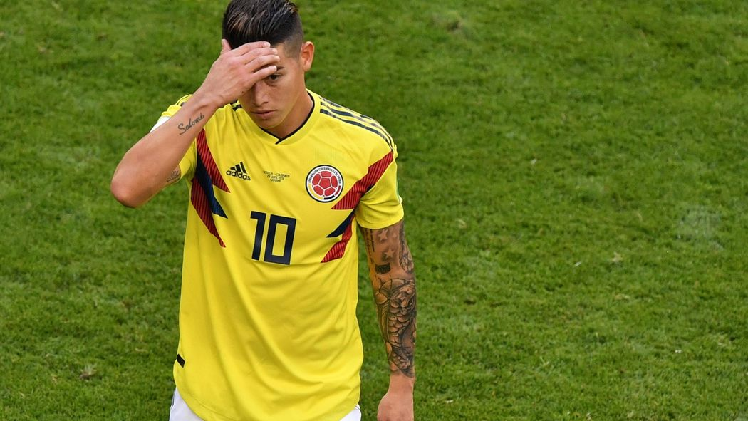 new style 3effd de6c6 Colombia sweat over James Rodriguez injury - World Cup 2018 ...