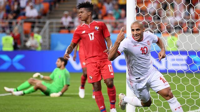 Ben Youssef e Khazri: vittoria in rimonta della Tunisia, che con orgoglio batte Panama 2-1