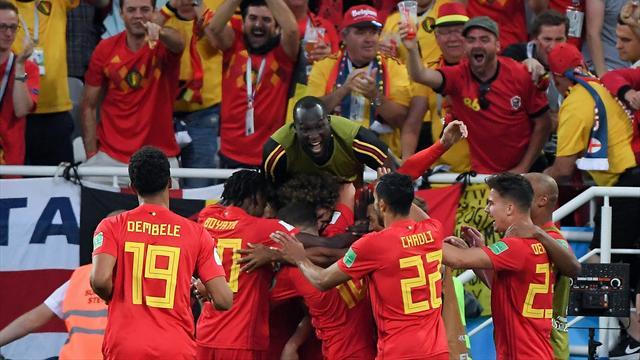 Il Belgio non fa calcoli e batte 1-0 l'Inghilterra con Januzaj: ci sarà il Giappone agli ottavi