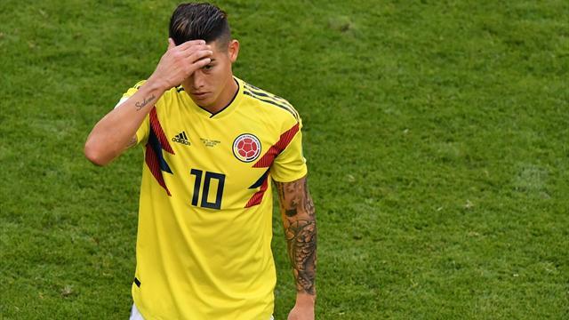 La rechute de James inquiète la Colombie
