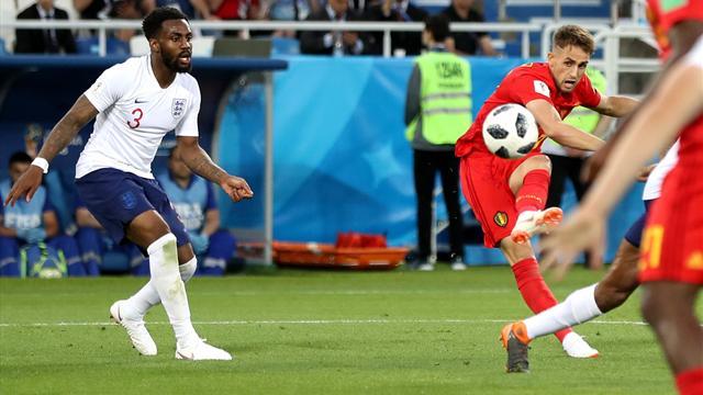 Le pagelle di Inghilterra-Belgio 0-1: Fellaini e Januzaj ritrovati, inglesi poca cosa senza Kane