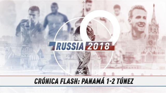 VÍDEO MUNDIAL 2018: Resumen del Panamá-Túnez