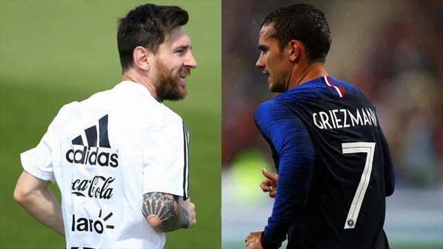 Et votre onze type de France – Argentine est…