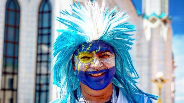 Revivez l'avant-match de France – Argentine avec notre envoyé spécial en Russie