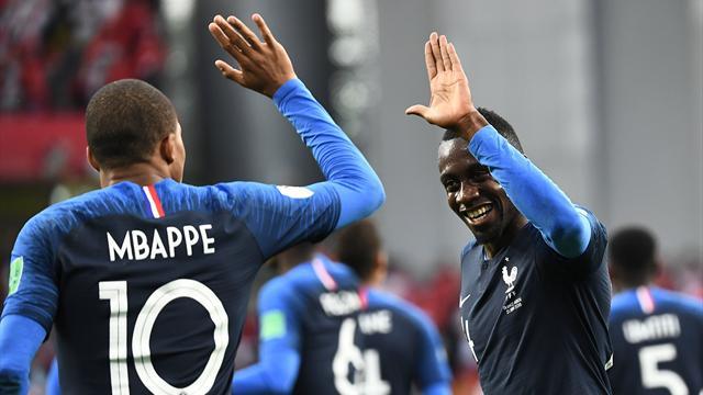Les compos : Matuidi de retour, Mbappé bien là, grosse surprise chez les Belges