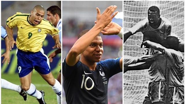 Mundial Rusia 2018: Mbappé, tras la estela de Ronaldo y Pelé