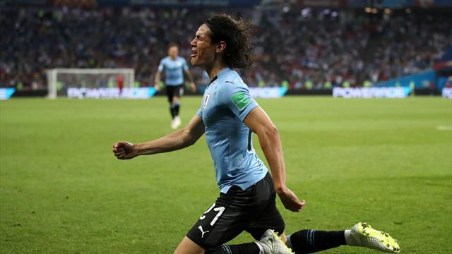 Uruguay-Portogallo 2-1: doppietta Cavani, che assist Bentancur! Ronaldo resta a secco