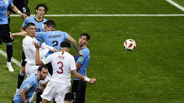 Pepe a égalisé pour le Portugal avec une tête puissante