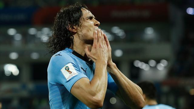 L'Uruguay écarte le Portugal grâce à un grand Cavani
