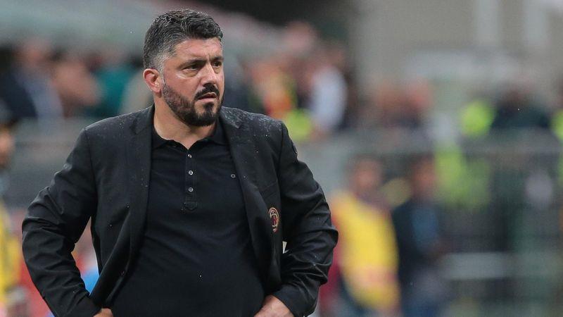 AC Milan coach Gennaro Gattuso