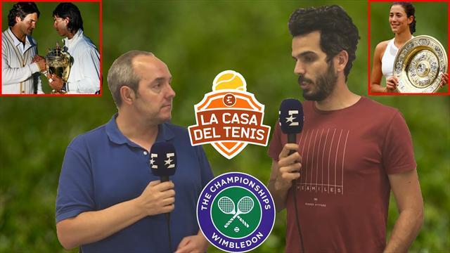 La Casa del Tenis (XI): Wimbledon y las opciones de ver otra final Nadal-Federer y a Garbiñe reinar