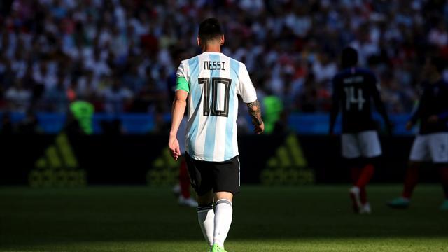 Messi ne jouera plus avec l'Argentine en 2018