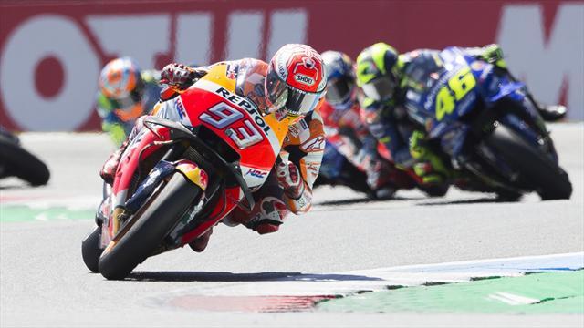 """Marquez: """"Dopo Assen non sento la pressione""""; Valentino Rossi: """"Recuperare passo passo"""""""