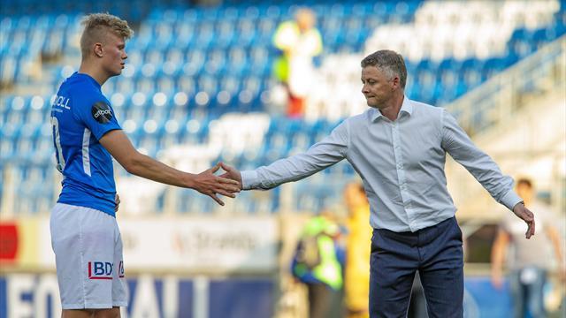 Manchester United vurderer Molde-juvel