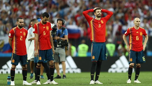 """Spanien scheitert: """"Einer der schwierigsten Augenblicke meines Lebens"""""""