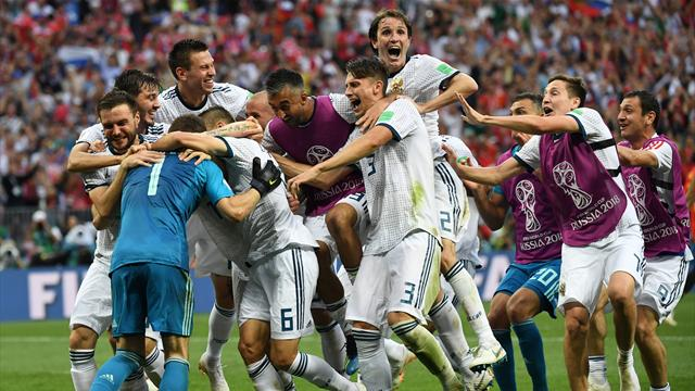 Akinfeev the hero as Russia dump Spain out after penalty shootout