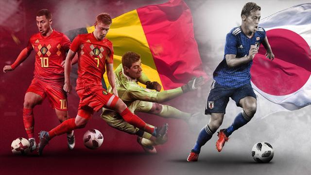 Mundial Rusia 2018: La previa en 60 segundos del Bélgica-Japón (20:00)