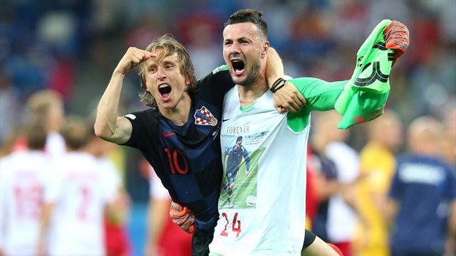 """""""Glückliches Drama"""": Kroatien bezwingt Dänemark im Elfer-Krimi"""