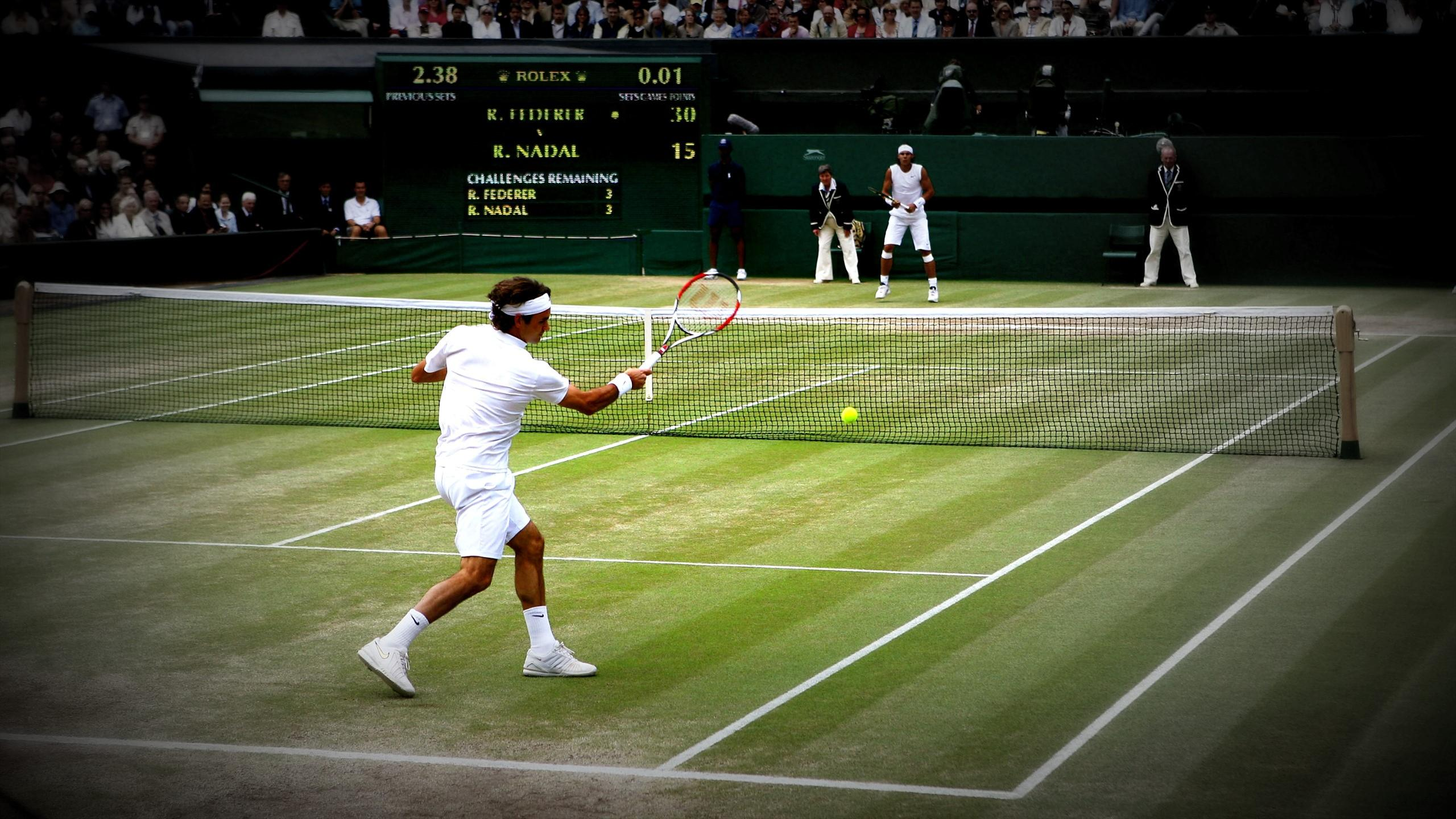 Onze ans après, l'heure des retrouvailles : Wimbledon 2008