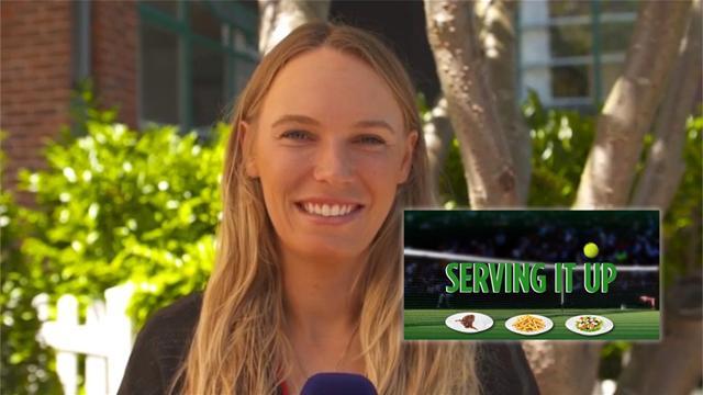 Serving It Up: Wozniacki's guilty pleasures