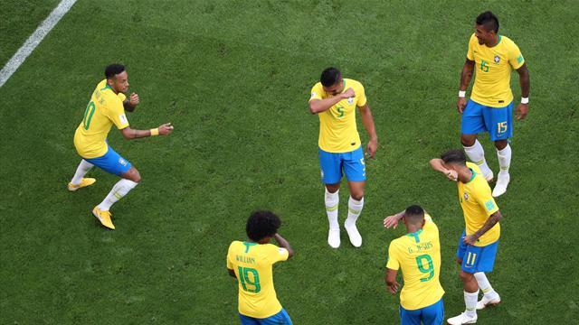 Le pagelle di Brasile-Messico 2-0: Neymar zar di Russia, Ochoa è sempre monumentale