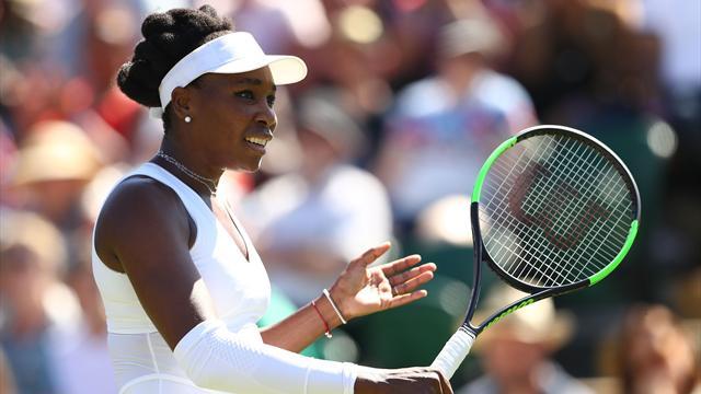 Venus Williams en mode diesel