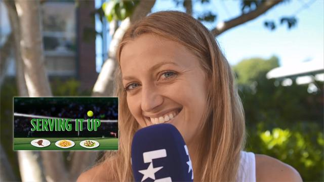 Serving It Up: Kvitova's drink 'if she can have anything'
