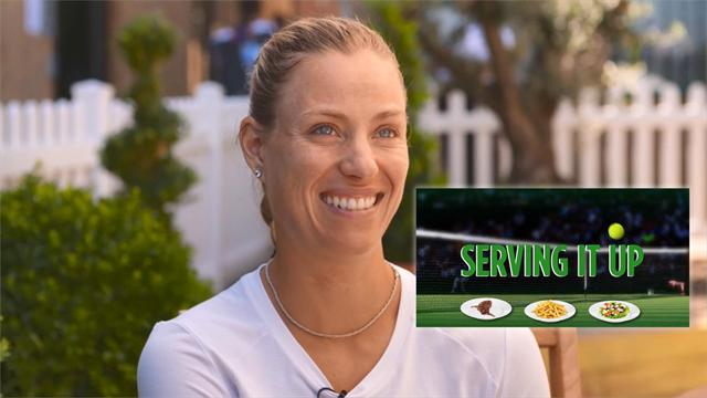 Serving It Up: Kerber reveals her love of 'mixing drinks'