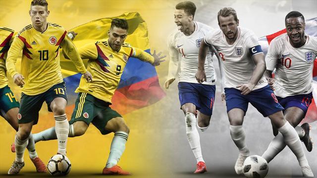 Mundial Rusia 2018: La previa en 60 segundos del Colombia-Inglaterra (20:00)
