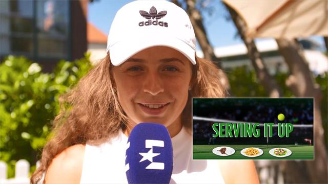 Serving It Up: Ostapenko reveals 'cheat meal' favourites