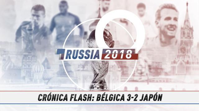 VÍDEO MUNDIAL 2018: Resumen del Bélgica-Japón