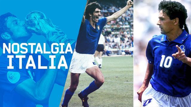 Nostalgia Italia: il 5 luglio, il giorno dei miracoli di Paolo Rossi e Roberto Baggio