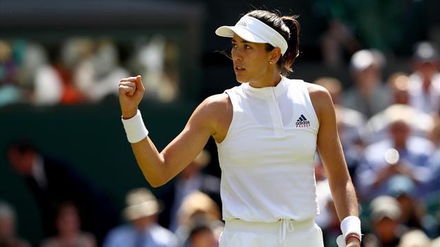 Wimbledon 2018, Muguruza-Broady: La campeona brilla en su debut (6-2 y 7-5)