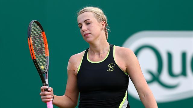 Павлюченкова уступила Сьех в первом раунде и покинула турнир