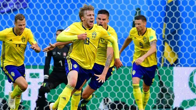 Le pagelle di Svezia-Svizzera 1-0: Forsberg trascina i suoi al di là del gol